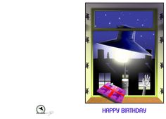 I'm not very good at creating graphics from scratch (although I am getting better). This is an attempt at a birthday card featuring one of the old Birmingham street lights. If you can download it, please use it if it's useful to you. Just don't remove the logo in the left hand panel.
