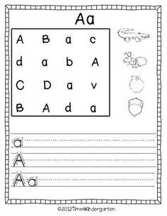 Alphabet Practice A-Z