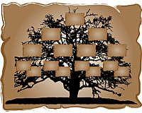 Templates - Free Printable Family Tree Diagram