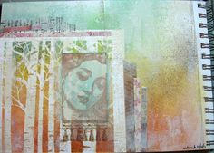 Handmade By Jessica: Fearless Art Journaling, Part 6: Creation of a Page