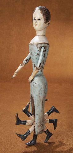 19c 8-leg walking doll