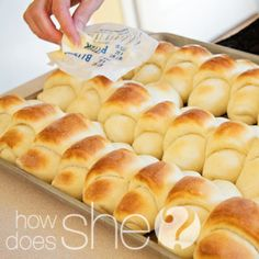 """AMAZING REVIEWS!!!! Another pinner says:If you're in charge of bringing the rolls…these are the ones that will """"wow"""" the crowd! Seriously. {Bonus: They're even simple to make!}"""