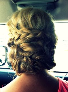 prom hair, loved it.