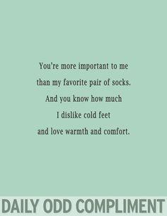 you and socks