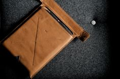 New Hard Graft Leather Macbook Sleeve £170!