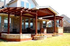 Great extension for our patio on one side..would look just like this!