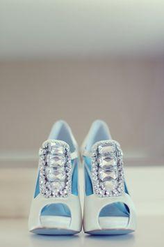 glitzy shoes, anyone? {Vanessa Joy}