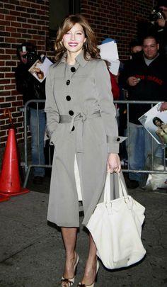 Women in Trench Coats, Jessica Biel, 2007