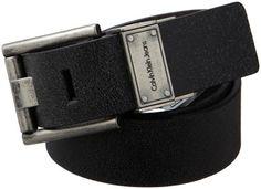 Calvin Klein Men's Vintage Leather 4-In-1 Reversible Belt