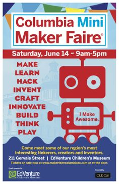 ReFashionista is Coming to the Columbia Maker Faire!  Let me teach you how to refashion!  :)