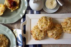 Sweet Corn & Chive Buttermilk Biscuits