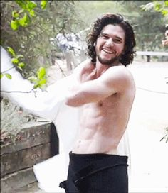 Kit Harington can get it any day