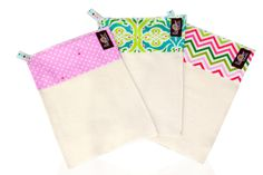 NEW - Le swipe! Organic reusable cloth wipes #clothdiapering #organic #wipes #babyshower http://www.lebibble.com