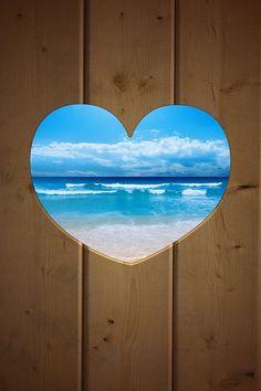 Where my heart lies - the ocean