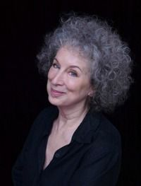 I love this photo of Margaret Atwood (The Handmaid's Tale)