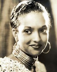 Nina Mae McKinney - 1935 - Stage, musical and film actress
