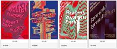 Amsterdam Sinfonietta 2012/2013 Poster series, Studio Dumbar