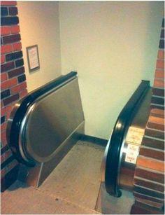 Found the escalator to Hogwarts.