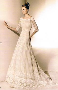 'Metis' gown by Valentino for Pronovias. So, so beautiful.