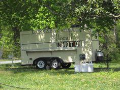 The food truck at Boxcarr Farms, Cedar Grove, NC.