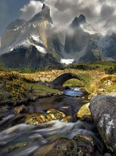 Torres del Paine National Park,Magallanes, Chile: