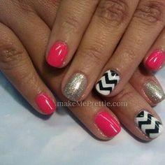 By tina. Chevron nails chevron nail design with gel manicure gel nails. Mani natural nails nail art designs | Yelp