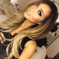 Sexy you tuber Arika Sato got my signature high contrast blonde today. She just sent me this selfie and it's so beautiful I had to post it