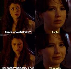 Finnick and Annie on P...