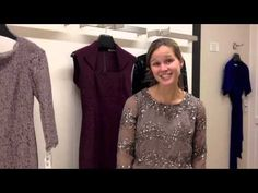 http://www.milenaconsulting.com  Personal stylist and image consultant Milena Joy helps Amanda find the perfect bridesmaid dress and rehearsal dress.