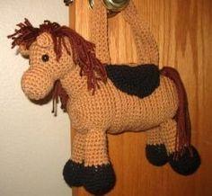 free horse pattern