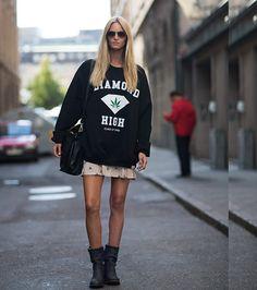 Moletom #streetstyle #looks #look #fashion #moda #style
