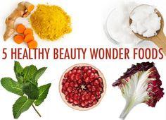5 Healthy beauty wonder foods from @greenbeautyteam #w3llbeing #drinkup #nutrition