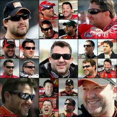 The many looks of Tony Stewart.