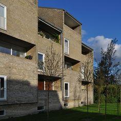 arne jacobsen, alléhusene housing, gentofte 1949-1953