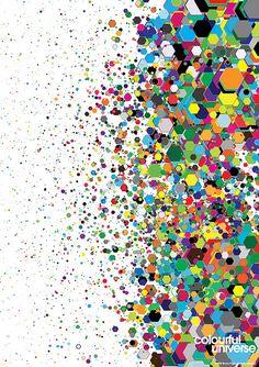 Colourful Universe #5 by Simon C. Page / Simon Page / Simon C Page / Page / SC Page / S.C. Page / simoncpage / simonpage