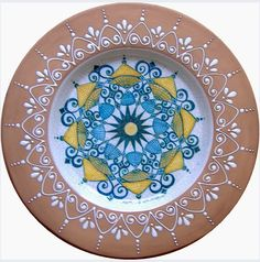 Plate #40 comes in sizes 35cm, 43cm & 48cm all of our terracotta is on our website www.romeocuomoceramics.com