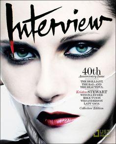 Kristen Stewart. Interview Magazine. Oct/Nov 2009.