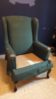 d i y d e s i g n: Re-Upholstering Furniture Part 2: Upholstering.   Best upholstering step by step guide