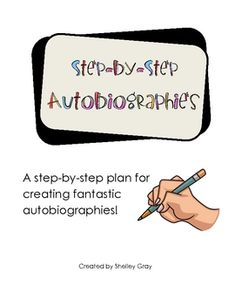 Autobiographies are a great way to engage students in writing about real-life events. To be successful during the writing process, most students need to be taught in manageable steps and be able to see the difference between good writing and mediocre writing. This resource will allow you to do just that!