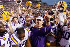 I am so proud of those Tigers!!!  Such a great time to be an LSU student for this and many other reasons!