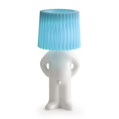Mr. P Table Lamp White Blue, $74.99, now featured on Fab.