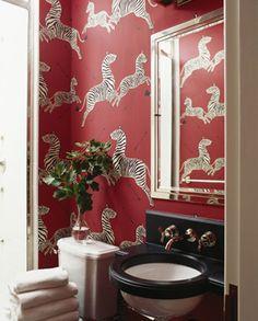Scalamandre Zebras Wallpaper