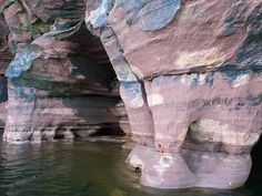 Apostle Islands  Sea Caves