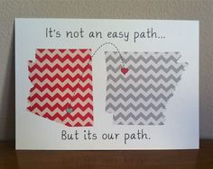 Best friend gift, chevron state, chevron, wedding gift for couple, relationship  ONE 8 x 10 print. $20.00, via Etsy.
