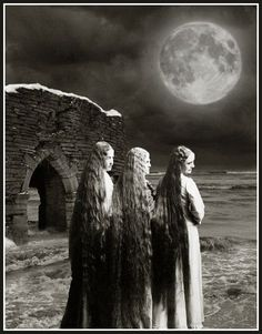 sisters three...maiden, mother, crone