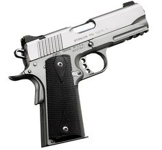 Kimber 1911 Stainless Pro TLE/RL II - A shorter stainless steel version of the pistol carried by LAPD® SWAT with an integral Kimber Tactical Rail™.
