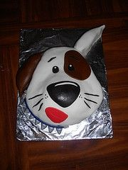 Puppy birthday cake pictures