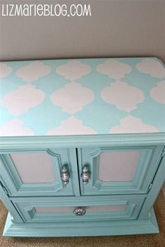 paint stenciled top!