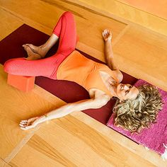 Yoga for Runners: Reclining Cobbler's Pose