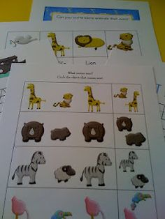 Free Noah's Ark Printable pack
